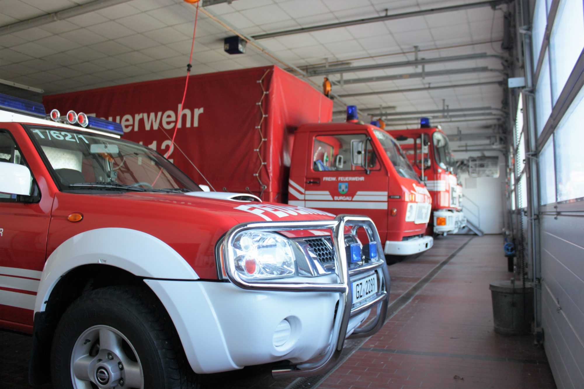 Fahrzeughalle Altbau