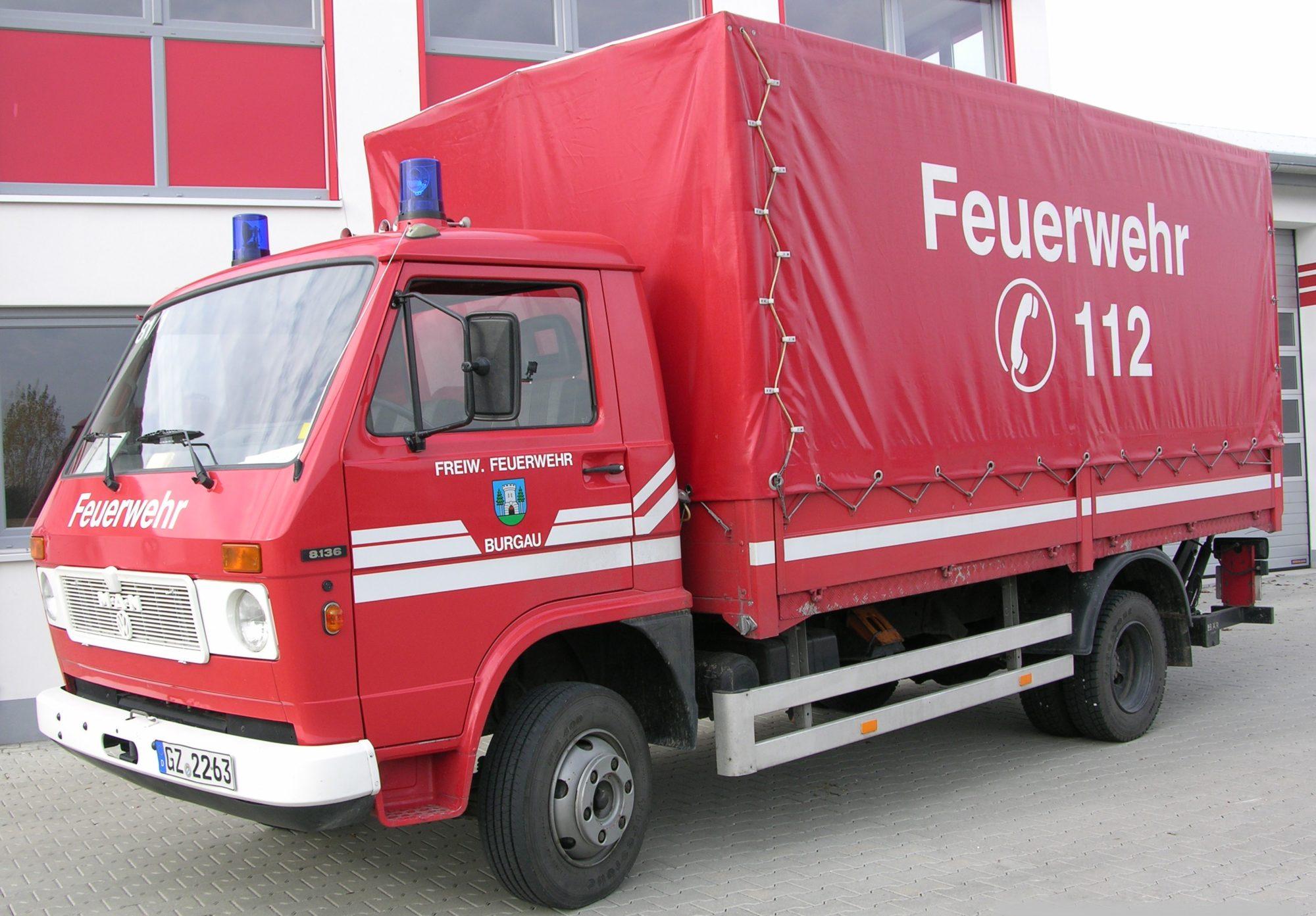 Versorgungs LKW